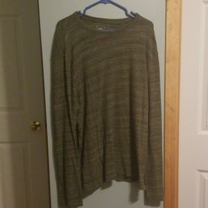 GAP ♡ Long sleeved crew neck ♡ heathered green